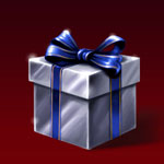 Cadeau argenté